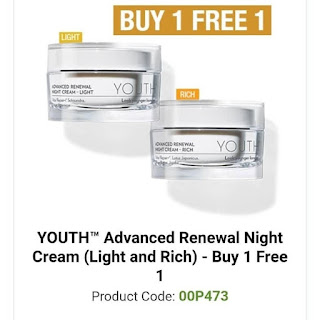 Promosi Youth Skincare Shaklee Harga Ahli Night Cream