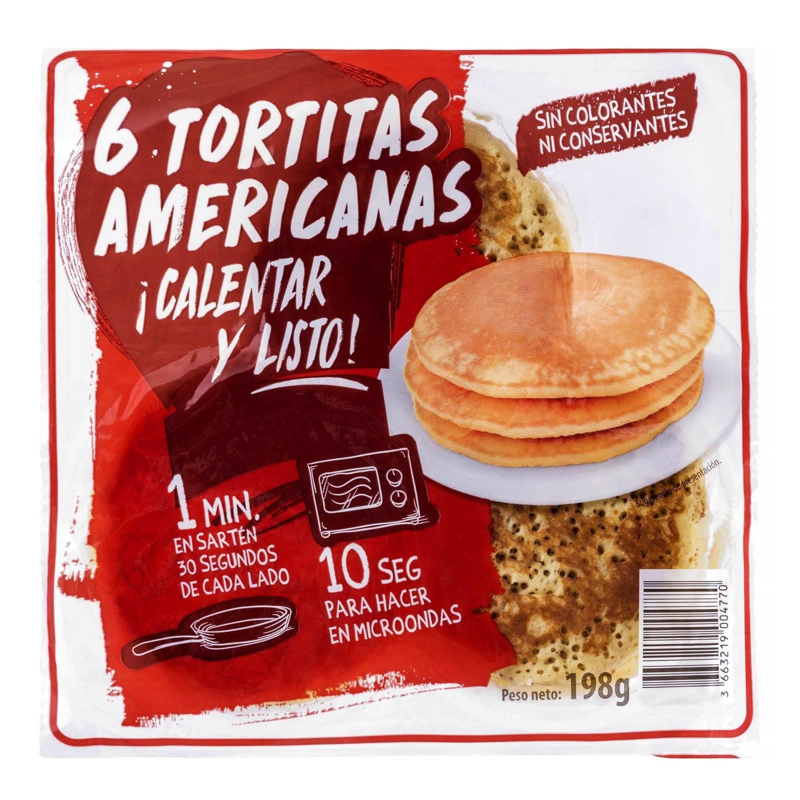 Tortitas americanas pancakes Hacendado
