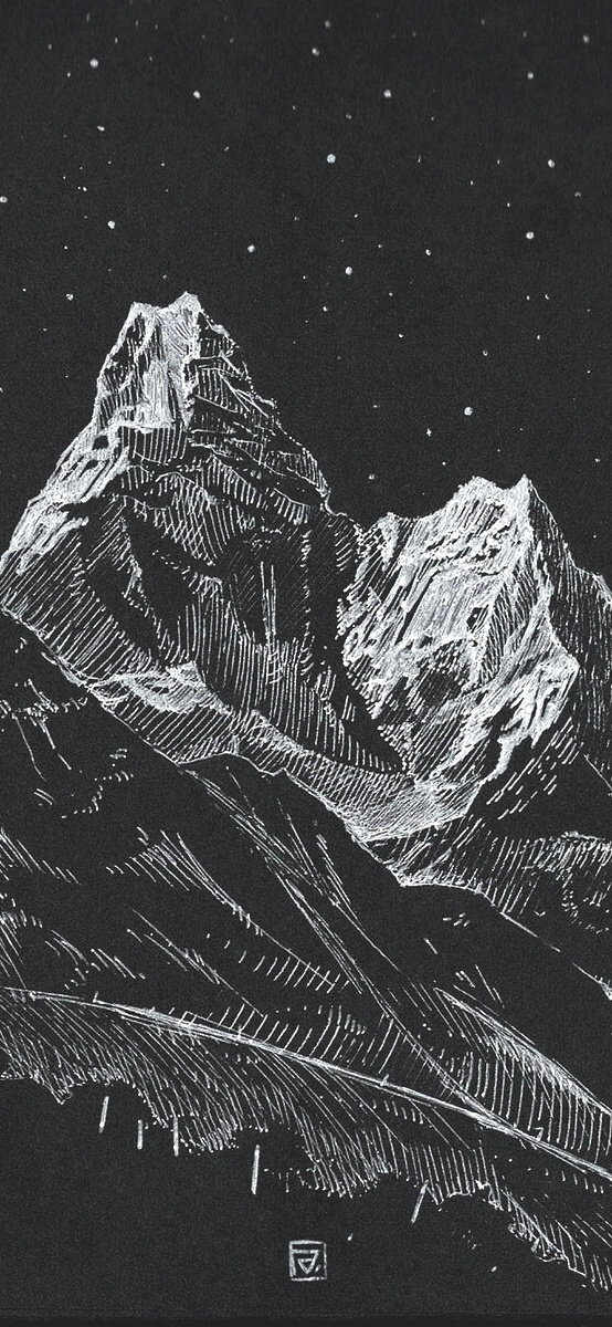MOUNTAIN ILUSTRATION