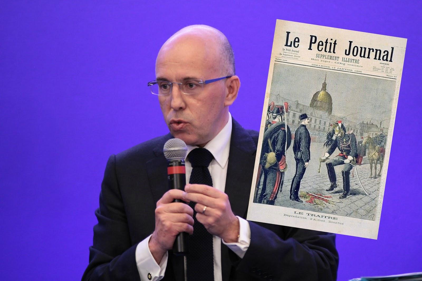 Lutte contre l'antisémitisme: comment Eric Ciotti propose de réhabiliter Alfred Dreyfus