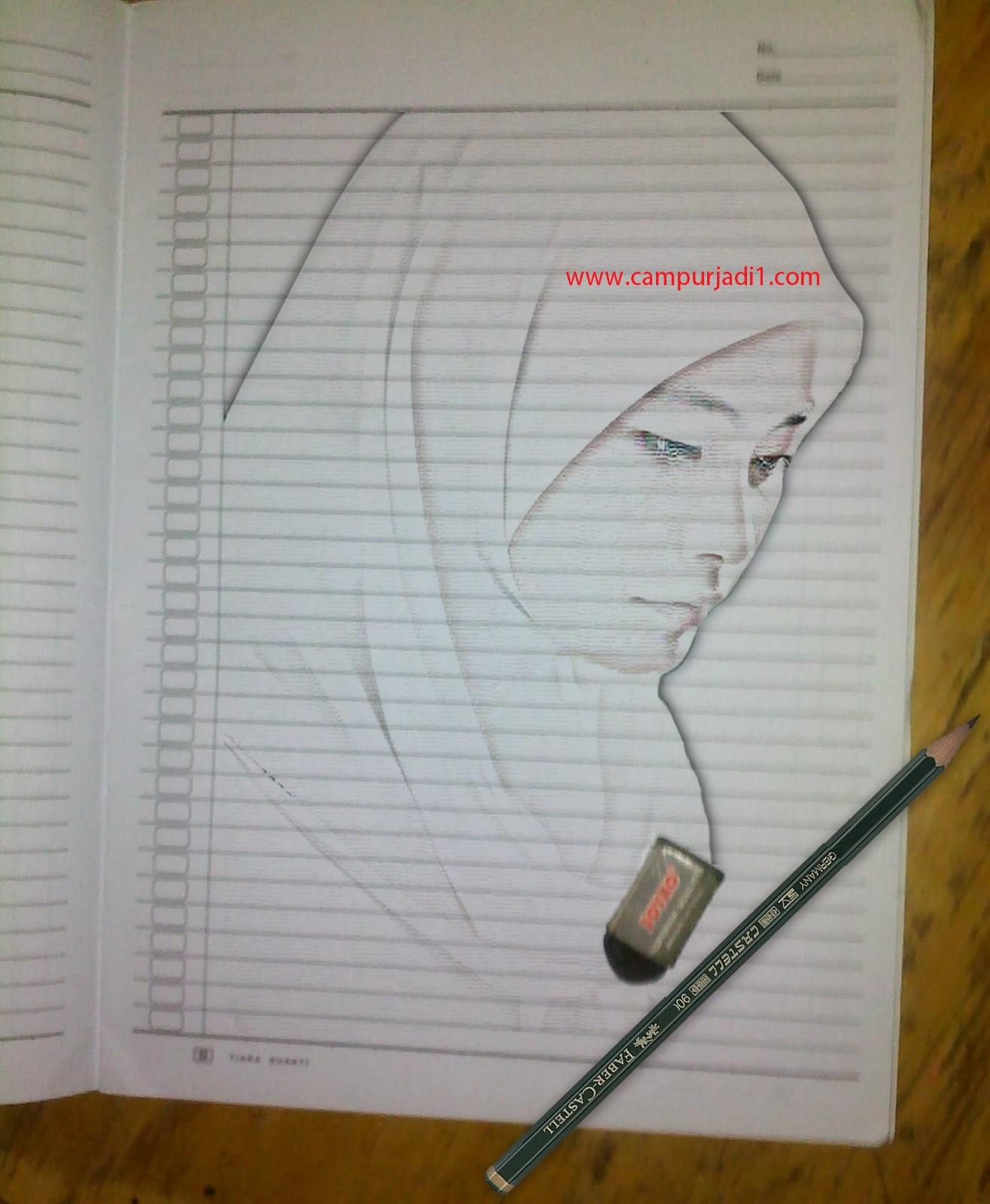 Gambar Sketsa Pensil Keren Sobsketsa