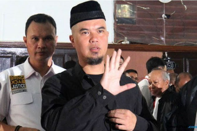 Ditjen PAS Tak Bisa Bawa Lagi Ahmad Dhani Ke Jakarta, Ini Alasannya