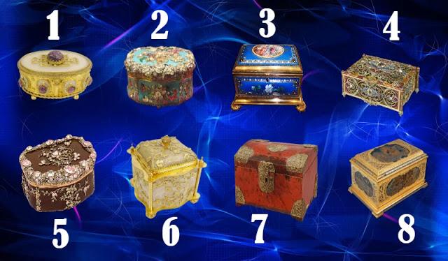 Выберите одну шкатулку из 8-ми и узнаете, какой подарок судьбы уготован в ближайшее время