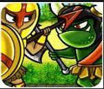 Chơi game kỵ binh và quái vật