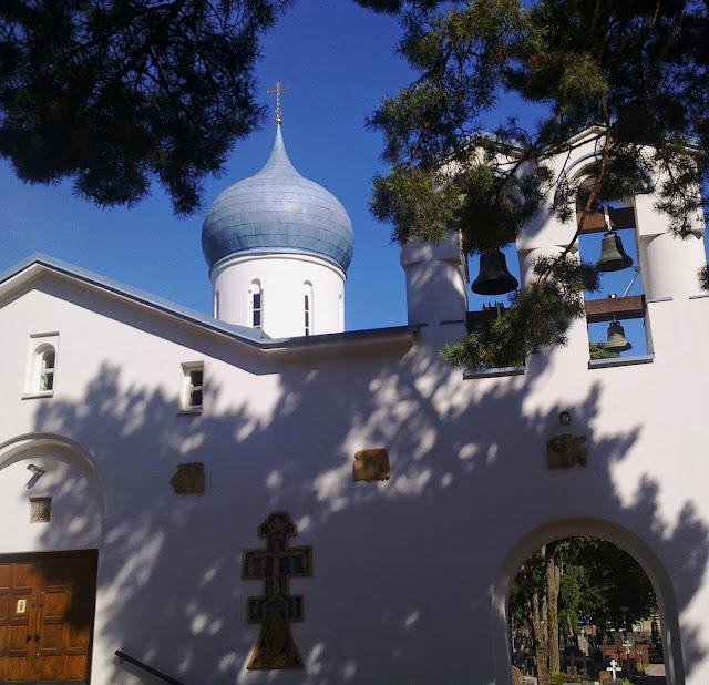profeetta Eliaan krkko, sininen kupoli,