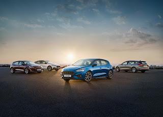 European Ford Focus lineup.