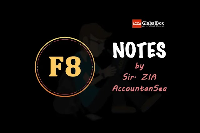 F8 (AA) - Notes - by AccountanSea Sir. Zia | Audit and Assurance | ACCA
