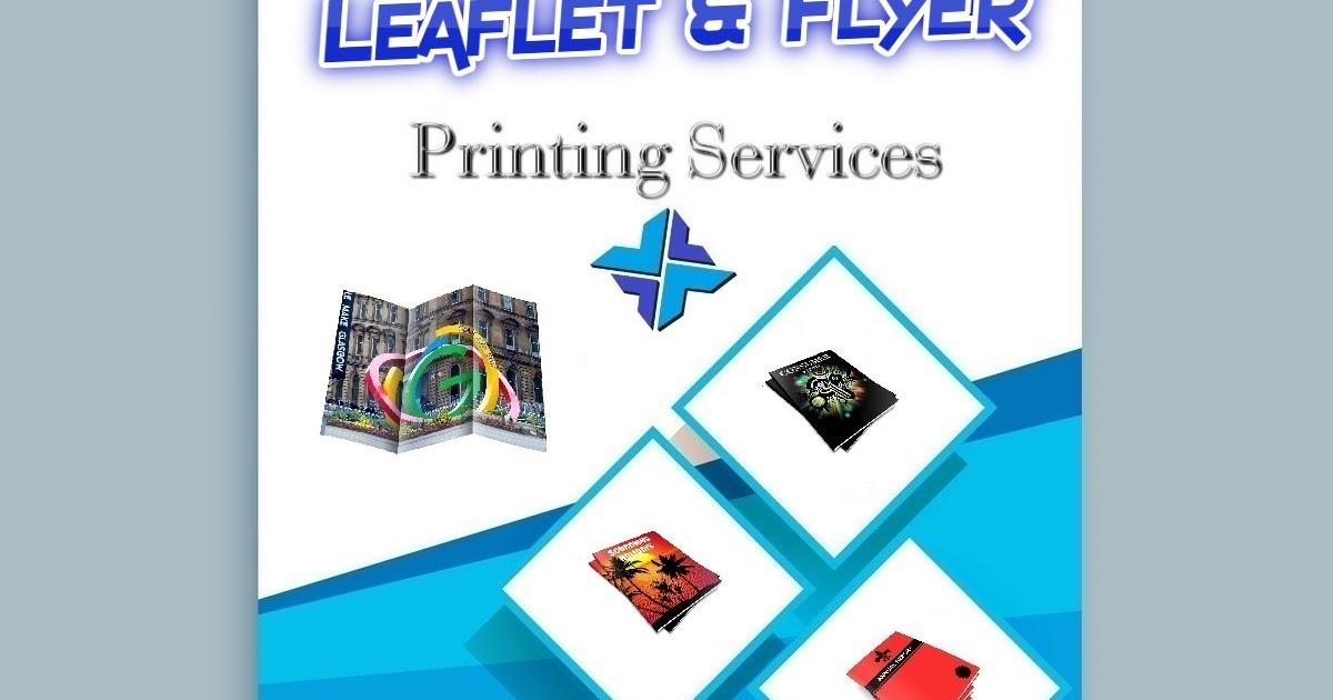 Leaflet Flyer Printing Services