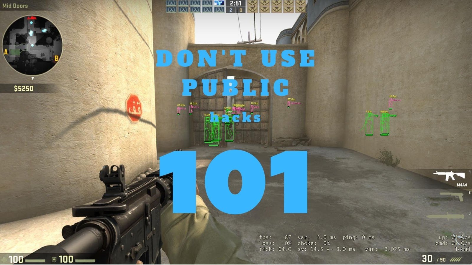 Don't use