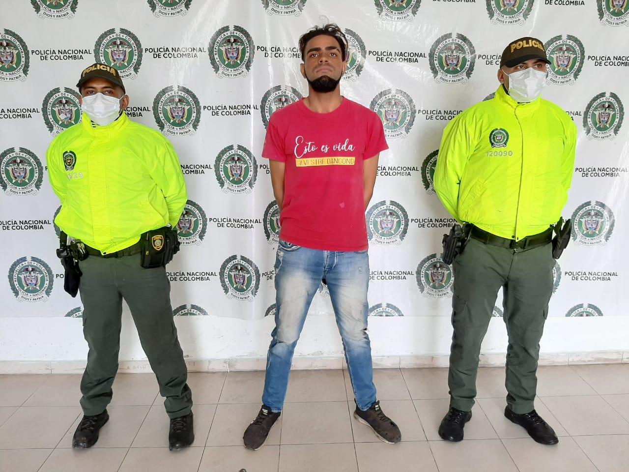 hoyennoticia.com, Casa por cárcel al #1 de los más buscados en el Cesar