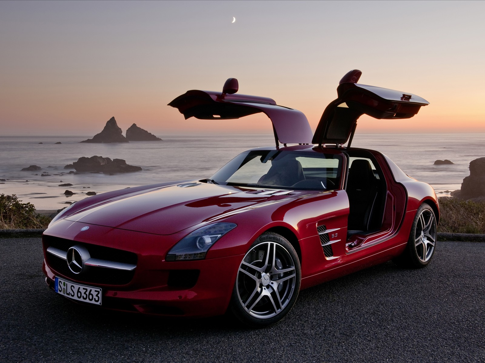 Autos A Escala Mercedes Benz Sls Amg