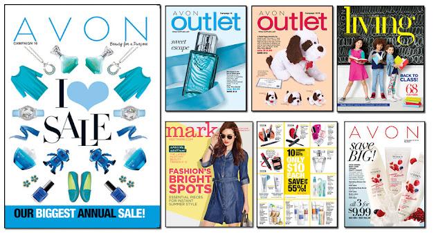 Shop Avon Today! Your Current Catalogs Via Online!