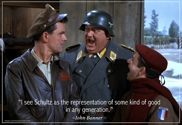 Bob Crane: Life & Legacy: 'I Know Nothing!' Sergeant Schultz