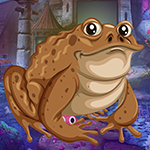 Games4King Brown Frog Escape