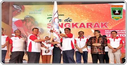 Menpar - Wagub Sumbar Launching Tour de Singkarak 2018