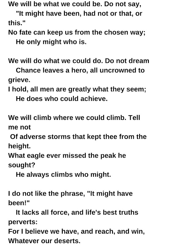 Ella Wheeler Wilcox poem
