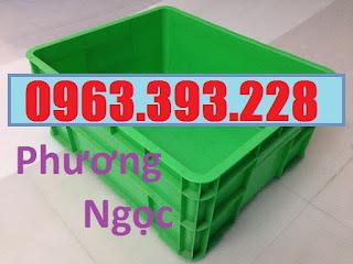 Sóng nhựa đặc B8, thùng nhựa đặc B8, hộp nhựa có nắp, thùng đựng linh kiện T%25C4%2590B88