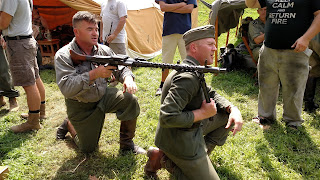 D-Day Reenactment at Conneaut Ohio Germans