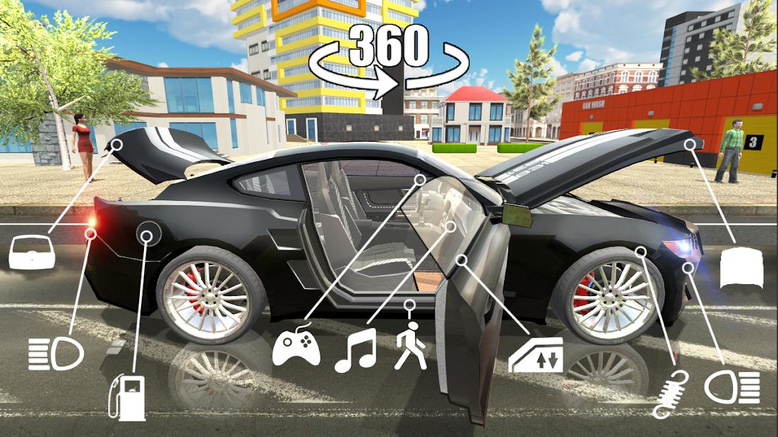 Car Simulator 2 Hileli APK - Sınırsız Para Hileli APK