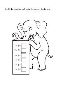 Junior Section (PG- STD-IV): Nursery all worksheet
