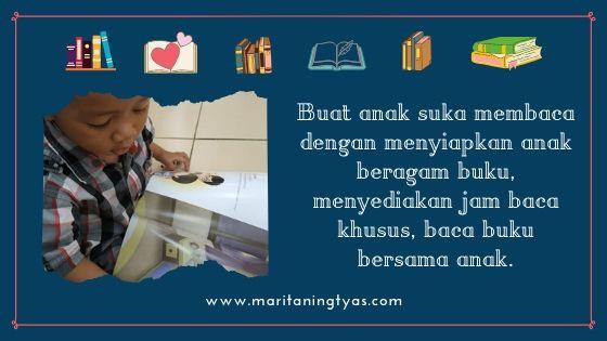 tips anak suka membaca