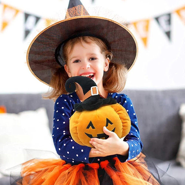 halloween squishmallow like pumpkin