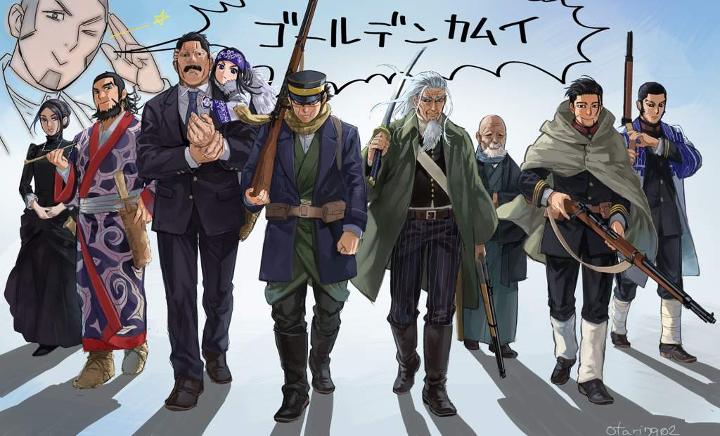 Golden Kamuy Season 2 Batch Subtitle Indonesia