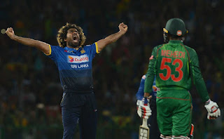 Lasith Malinga T20I Hat-trick vs Bangladesh Highlights