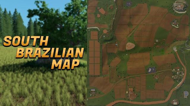 FS19 SOUTH BRAZILIAN MAP V1.0