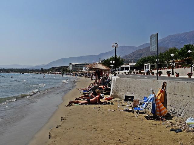 Georgioupoli plaże jak wyglądają?