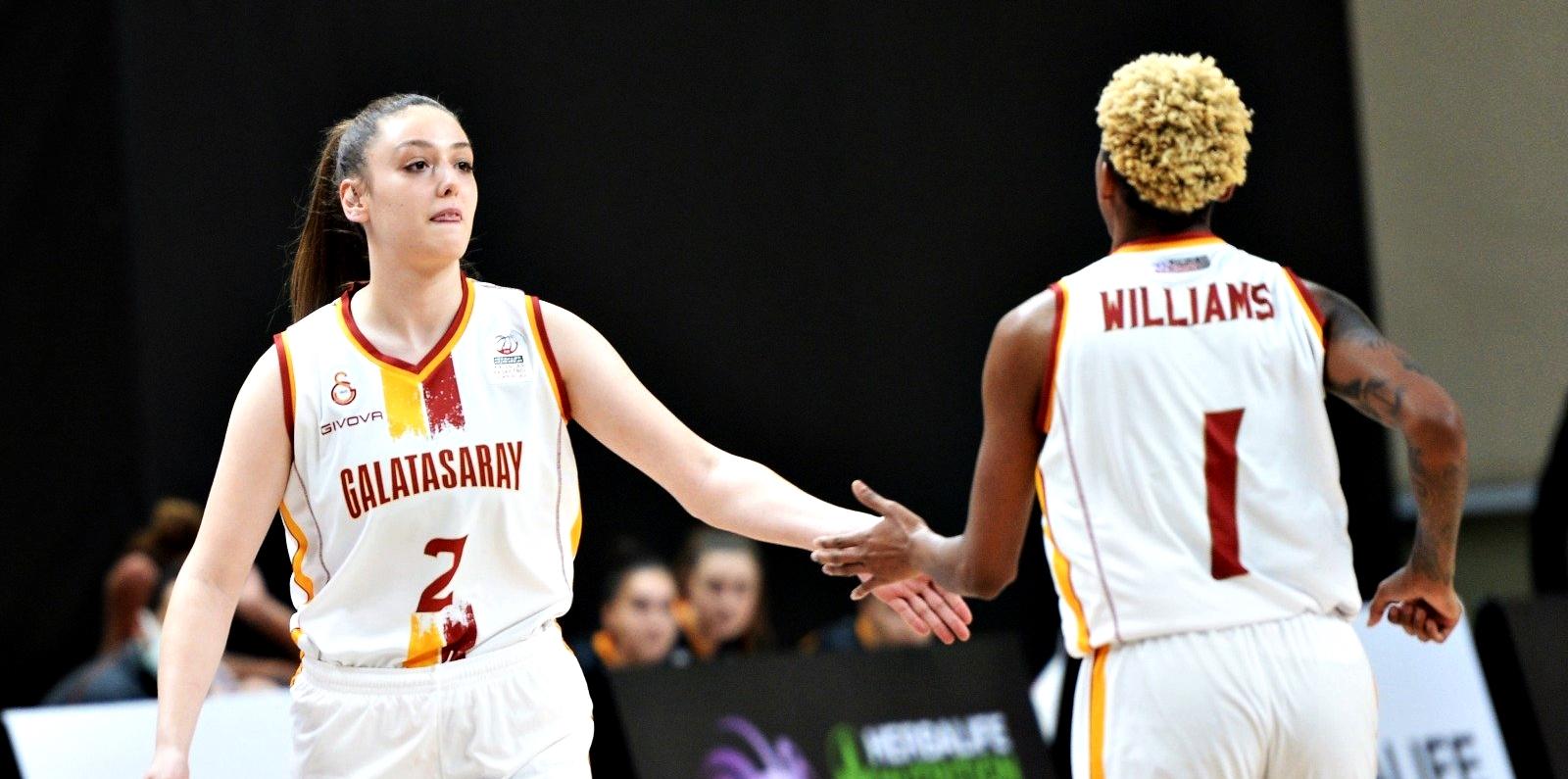 KBSL   Courtney Williams oynadı; Galatasaray, Hatay'ı farklı yendi!
