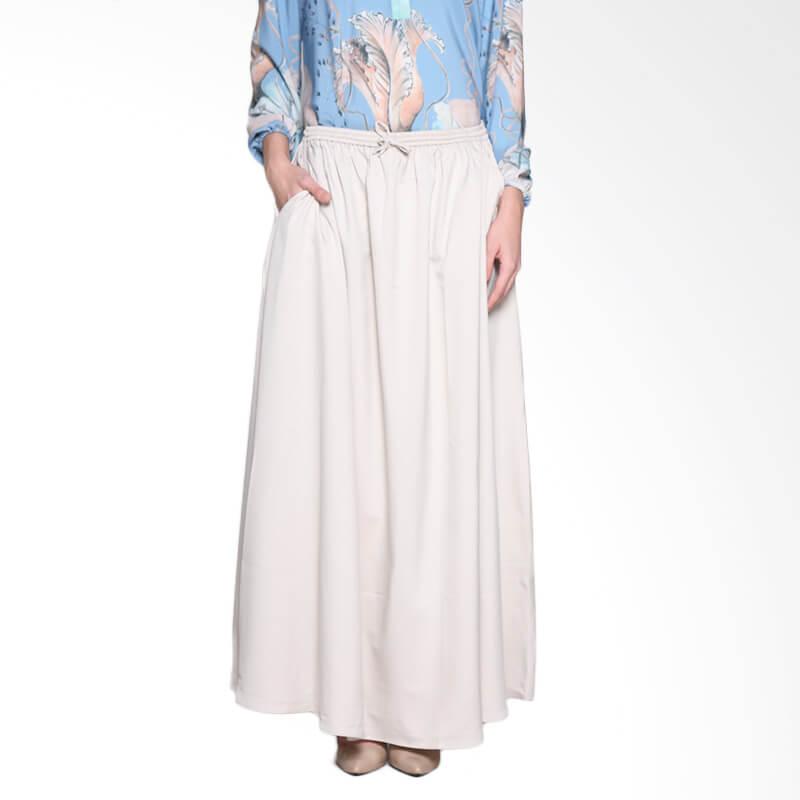 Ria Miranda Sassana Skirt Muslim - Cream