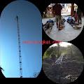 Tower Roboh,  Tiga Pekerja Tewas Mengenaskan