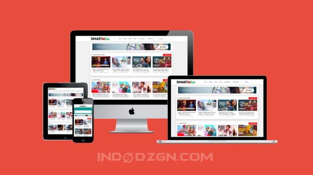 smart tube blogger template, template video blogger, template blogger mirip youtube