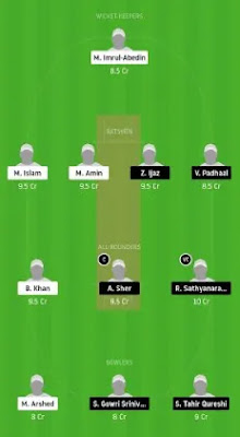 ECC vs BTC Dream11 team prediction | FPL 2020