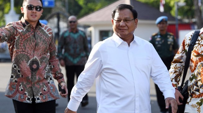 Bakal Jadi Menteri Jokowi, Prabowo Subianto Punya Harta Rp 1,9 Triliun