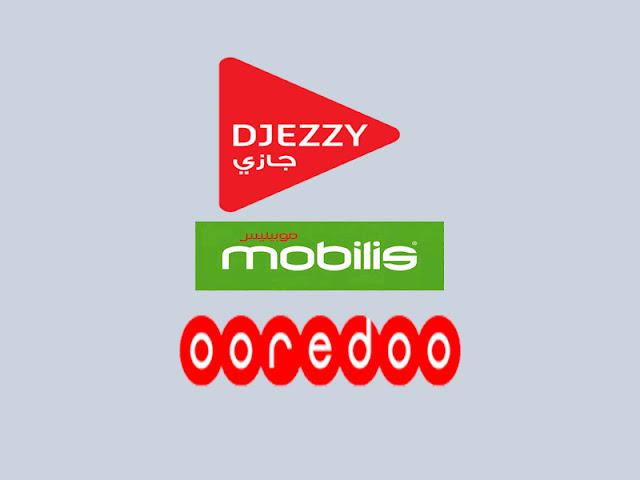 djezzy mobilis ooredoo