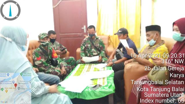 Pembuatan Jamban Diwilayah Binaan, Personel Jajaran Kodim 0208/Asahan Laksanakan Rapat