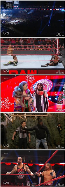 WWE Monday Night Raw Episode Download 23rd December 480p 300Mb Complete HD || 7starhd