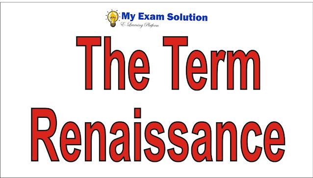The Term Renaissance