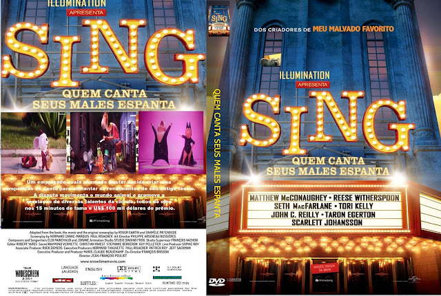 Capa DVD Sing Quem Canta Os Males Espanta