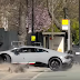 Watch how a Lamborghini car smashed £ 250,000 on the streets of London