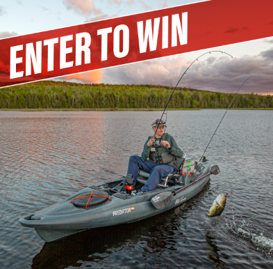 Kayak Angler Magazine is fishing enthusiasts a chance to win this 2020 Old Town Predator PDL fishing boat worth over $2500!