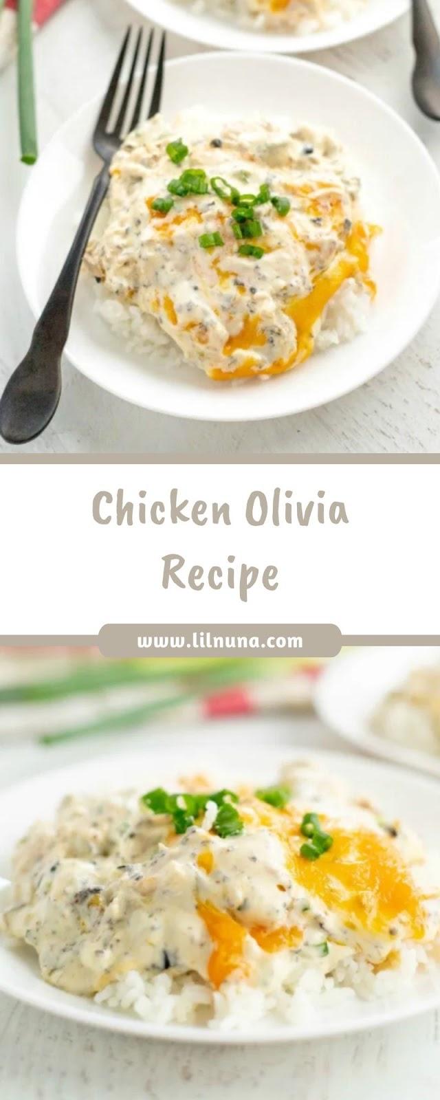 Chicken Olivia Recipe