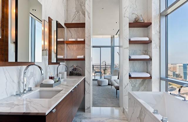 Modern Bathroom Ideas - Negative Space
