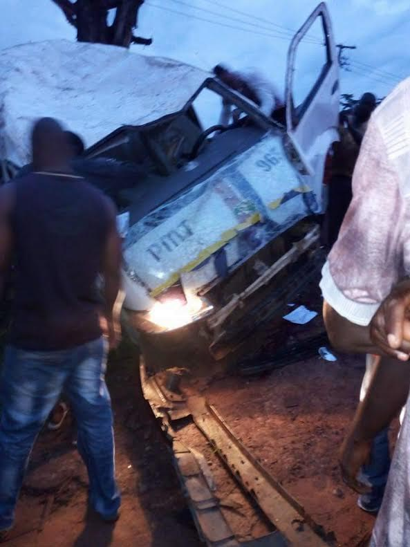 Another Peace Mass Transit commercial bus involved in ghastly accident