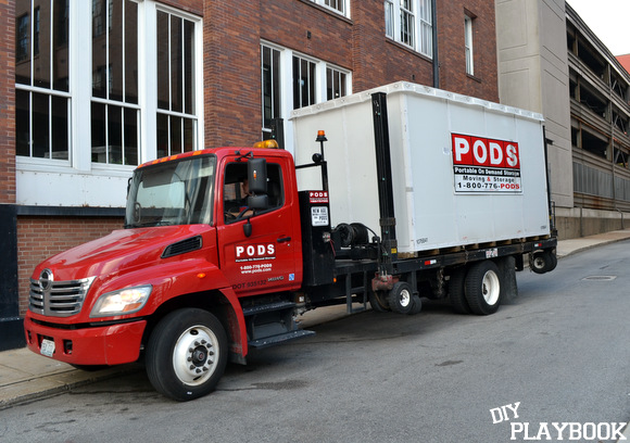 PODS truck delivery