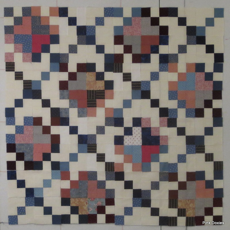 """Easy Charity Quilt"" Free Pattern designed by Julie from Pink Doxies"
