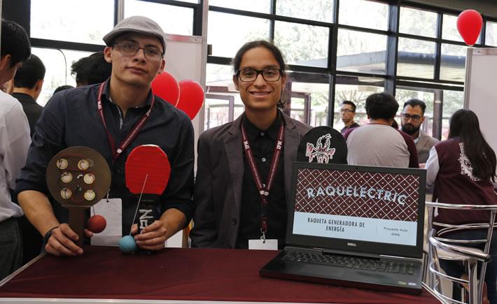 Diseñan politécnicos raqueta generadora de energía. (Foto: IPN)