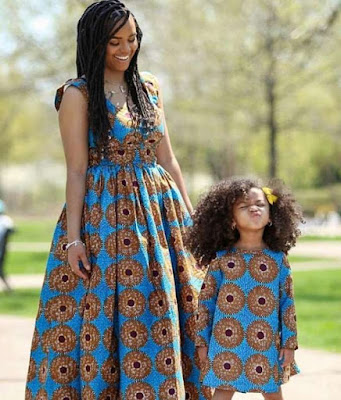 Latest Mother and Daughter Ankara Styles